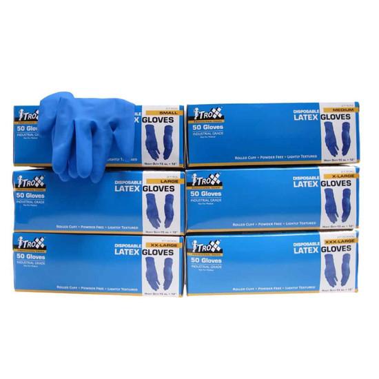 Troxell Heavy Duty Latex Gloves