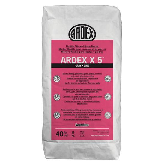 Ardex X5 Flexible Tile mortar