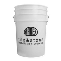 12446 Ardex M-6W White 6 Gallon Bucket