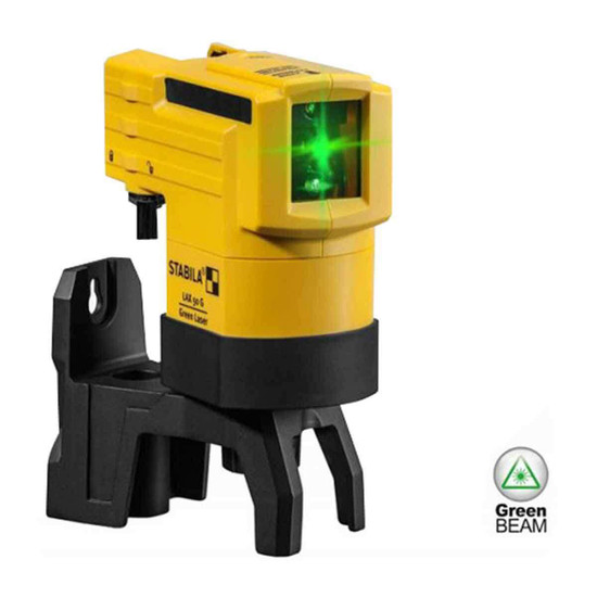 Stabila LAX50G Green Beam Wall Laser