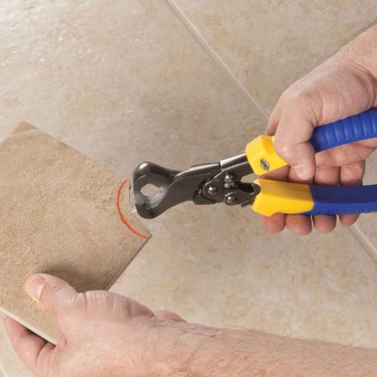qep brutus compound nipper cuts tile