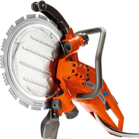 968424101 Husqvarna K3600 MK II Hydraulic Concrete Saw power cutter cutting openings for doors and windows, cutting ventilation shafts, stairwells, piles and foundations