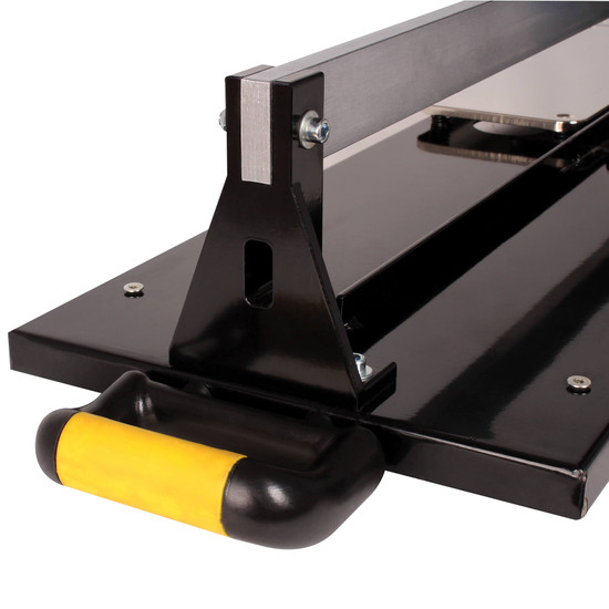 QEP LFT Manual Tile Cutter Dual breaker bar for narrow and wide tile alike for cutting large format porcelain tile