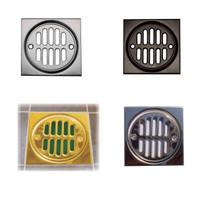 shower drain squares are designed to set up a tile pattern Complete 3 piece system also includes screws