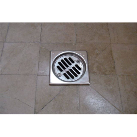 Troxell Drain Frames bathroom Square Drain Square Grate Decorative Shower Drains