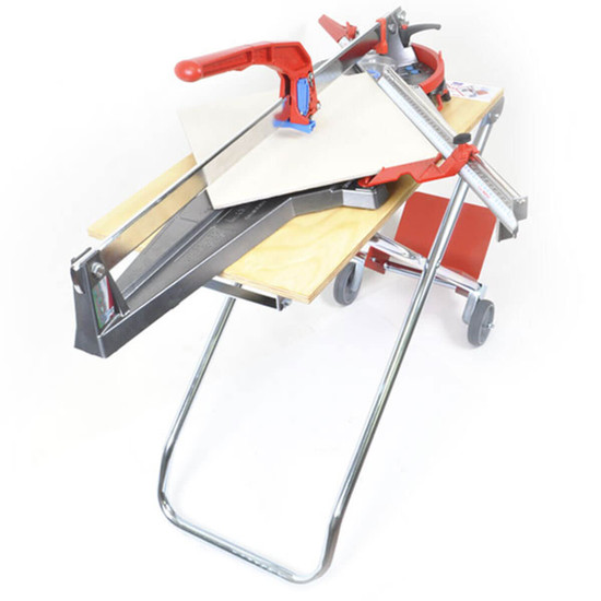 x-works portable bench for tile cut