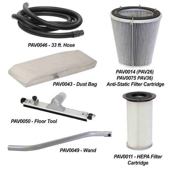 Pearl V-Max Filter and Accessories
