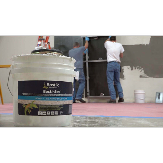 Bostik Bosti-Set Adhesive for Large Format Thin Panel Tile