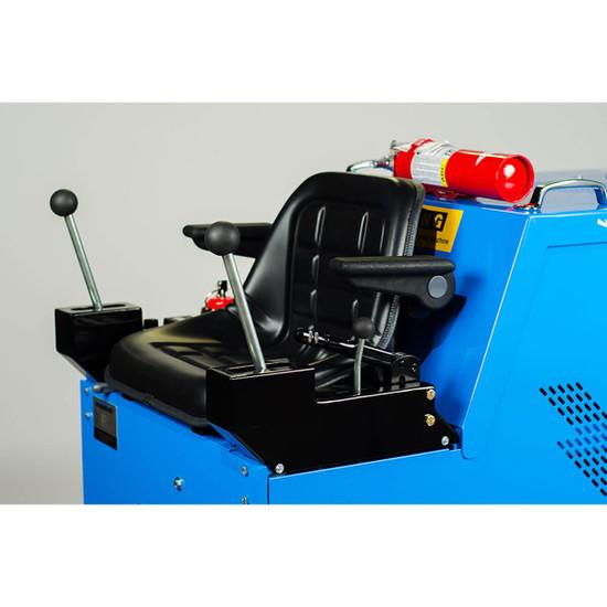 Innovatech Terminator T3000El Floor Scraper Controls