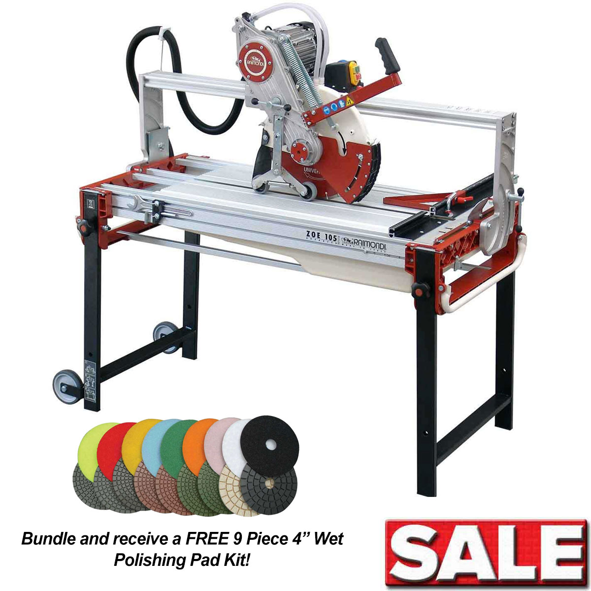 Raimondi Zipper 105 Rail Saw Special