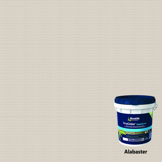 Bostik TruColor RapidCure Pre-Mixed Grout - Alabaster