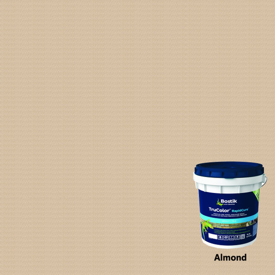 Bostik TruColor RapidCure Pre-Mixed Grout - Almond