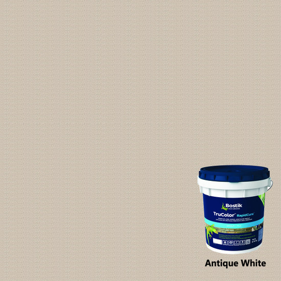 Bostik TruColor RapidCure Pre-Mixed Grout - Antique White