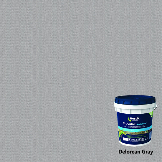 Bostik TruColor RapidCure Grout - Delorean Gray