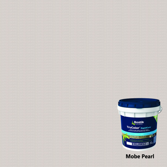 Bostik TruColor RapidCure Pre-Mixed Grout - Mobe Pearl