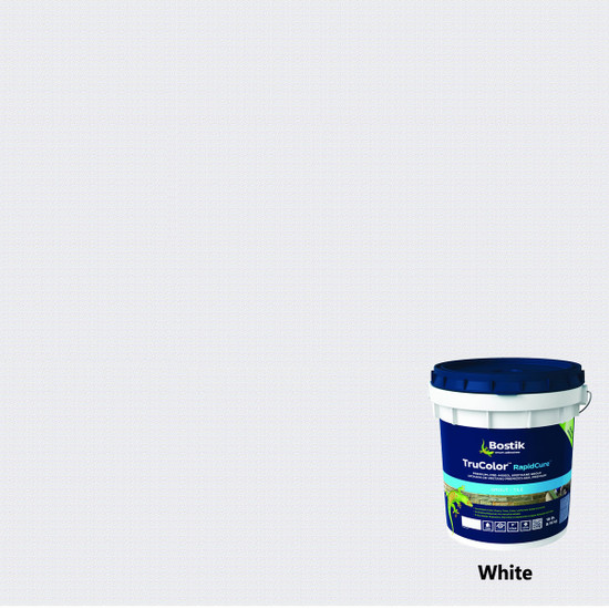 Bostik TruColor RapidCure Pre-Mixed Grout - White
