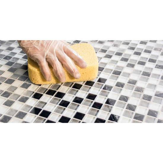 Non-sag formula grout ceramic tile