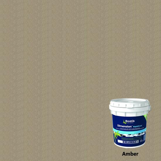 Bostik Dimension RapidCure Pre-Mixed Grout - Amber