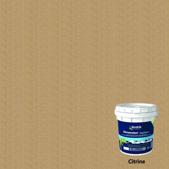 Bostik Dimension RapidCure Pre-Mixed Grout - Citrine