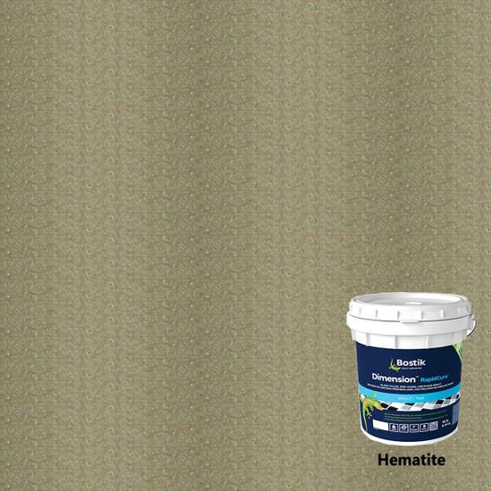 Bostik Dimension RapidCure Pre-Mixed Grout - Hematite