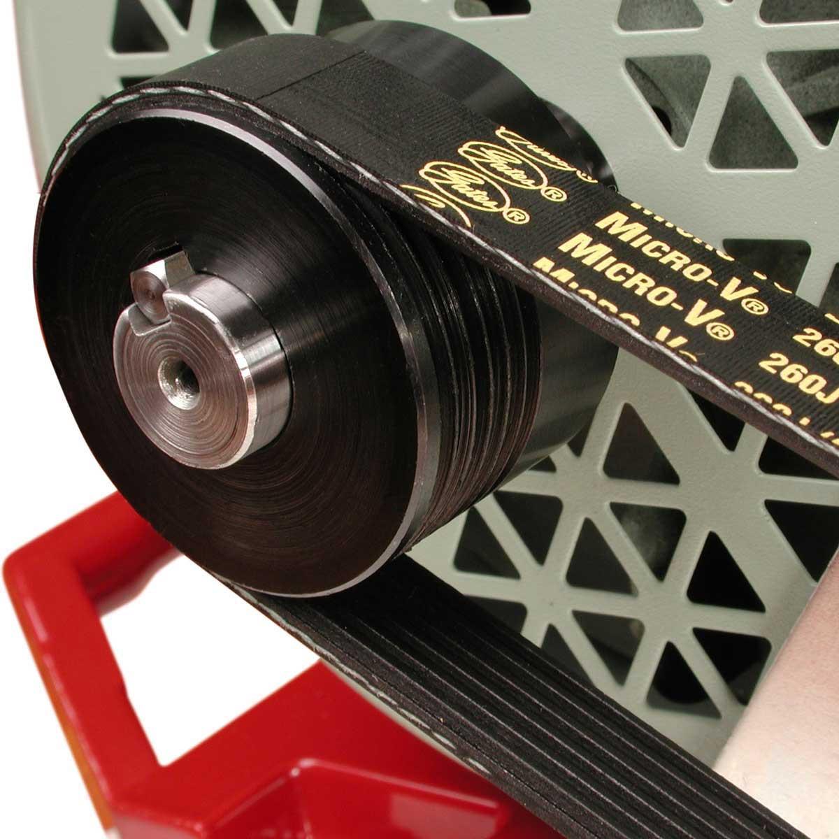 MK tie saw belt driven motor