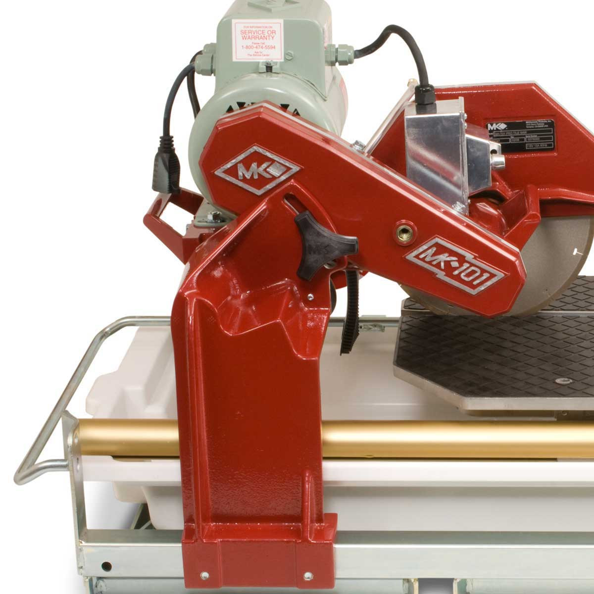 MK pro series tile saw belt driven motor