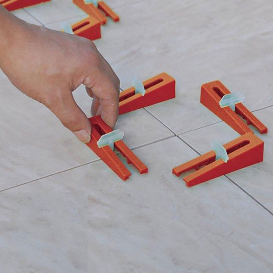DTA Wedge Lippage System floor tile wedges and clips ceramic tile installation
