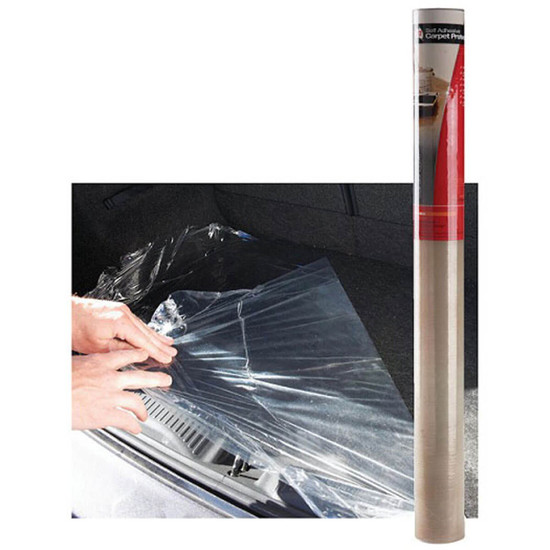 DTA Self-Adhesive Carpet Protection Film Protects carpet against spills, dust, dirt, paint and stains during renovations