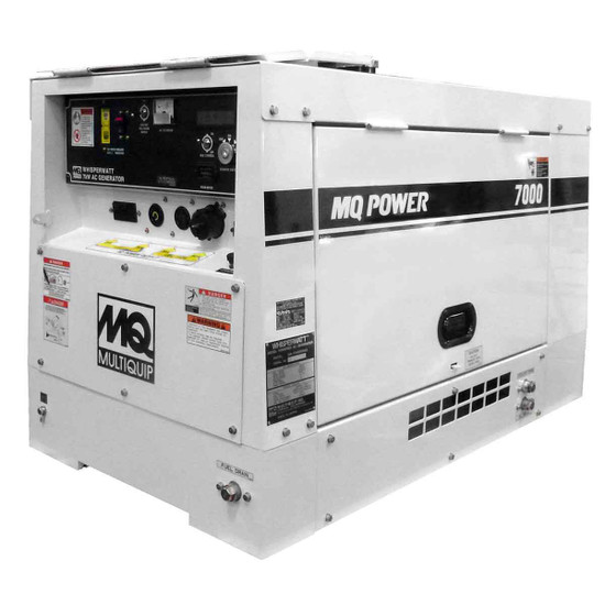 DA7000SSA3 WhisperWatt Diesel Generator