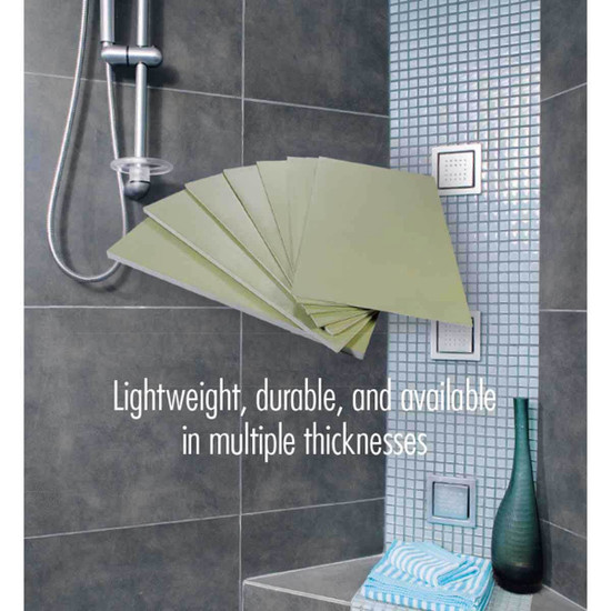 HydroBan Shower Tile Backer Board