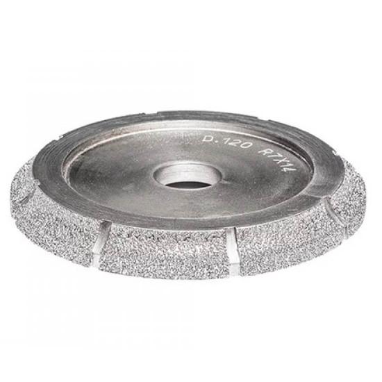 TCGLFPW6 power raizor bullnose diamond profiling wheel