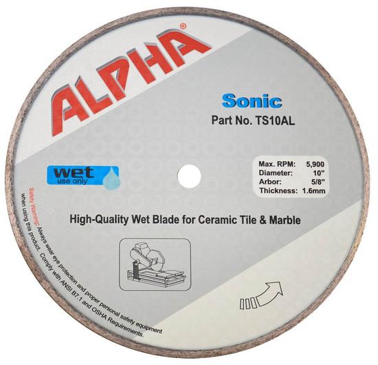 Alpha Sonic Diamond wet tile Blade