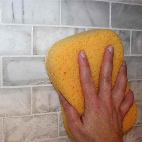 XL Sponge Cleans Porcelain Tile