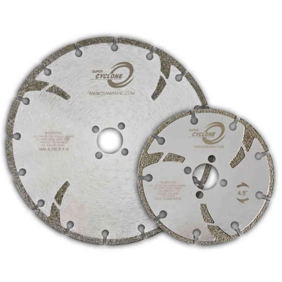 Diamax Super Cyclone Electroplated Marble Blade