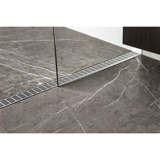 USG Linear Drain Shower Pan