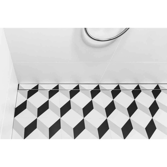USG Modern Shower Linear Drain