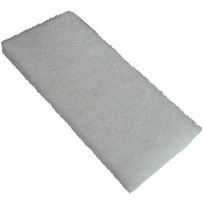 White Fine Non-Abrasive scrub pads