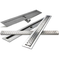 Laticrete Side Outlet Linear Drain
