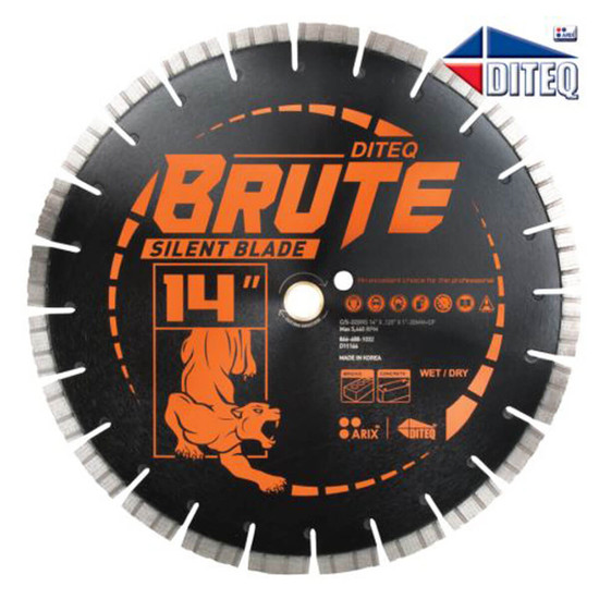 Diteq C/S-32 Arix Brute 14 inch Silent Blade