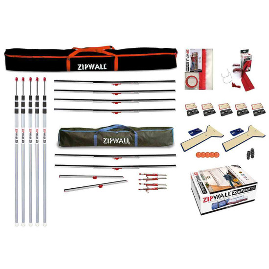 ZWTK ZipWall Dust Barrier Tool Kit