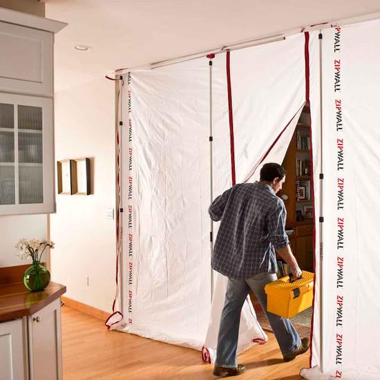 ZipWall Dust Barrier Reusable Panels