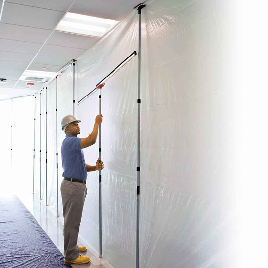 ZipWall Dust Containment Tapeless Seams