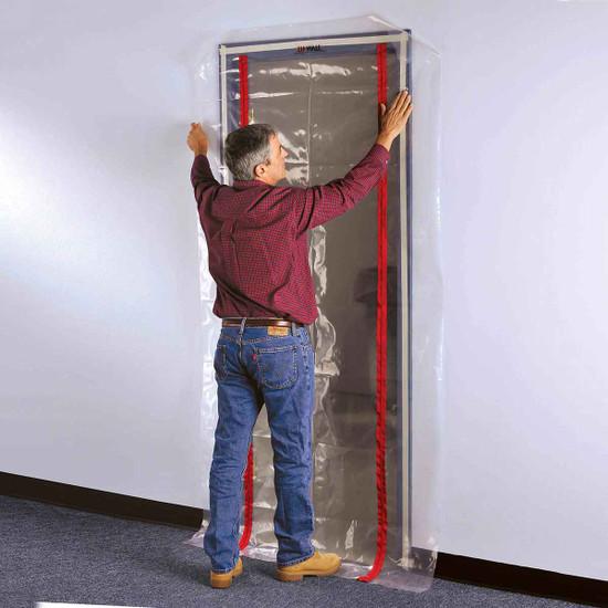 ZipWall Dust Barrier Plastic Door