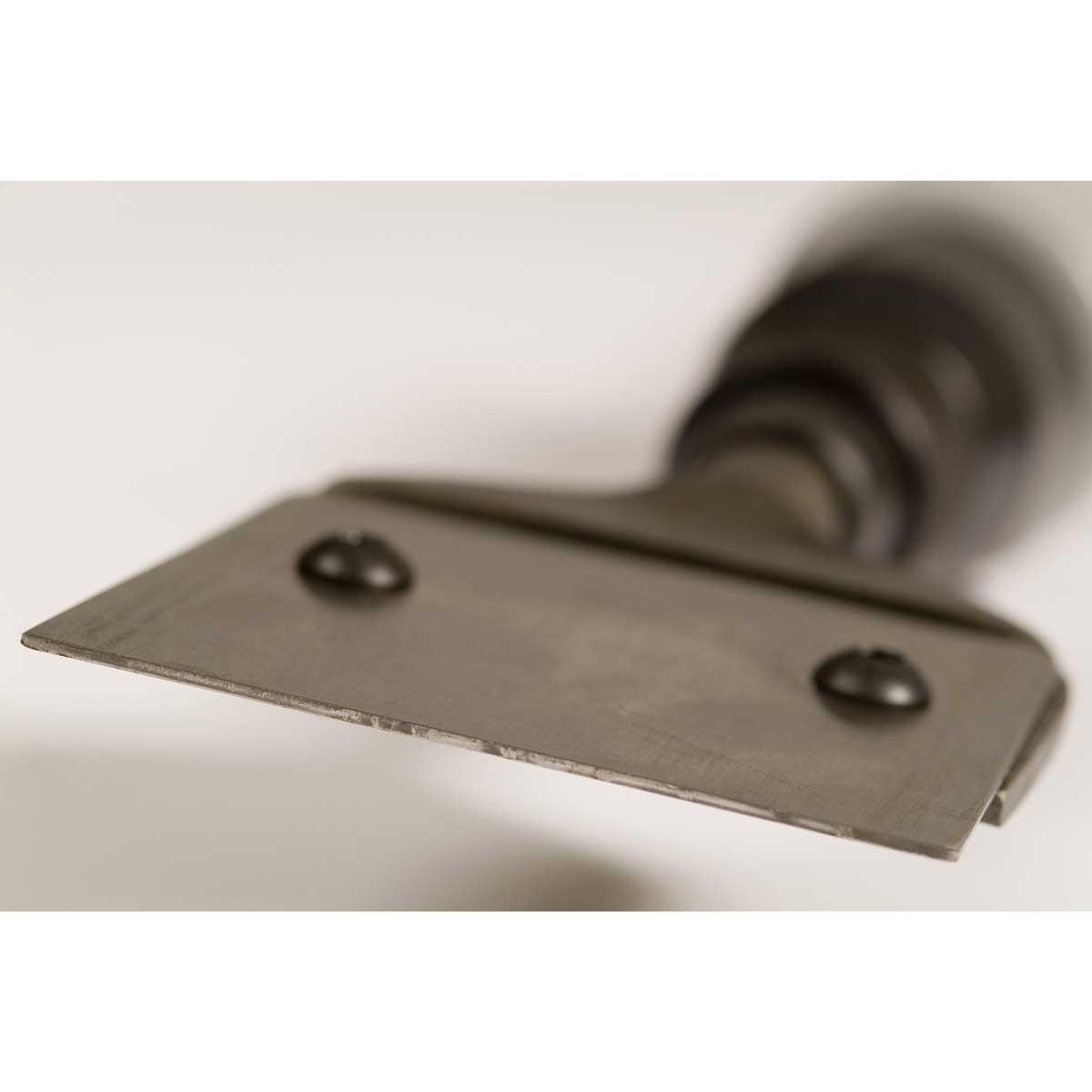 Trelawny Scraper Blade mounted