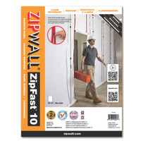 ZipWall Flame Retardant Dust Barrier Panels