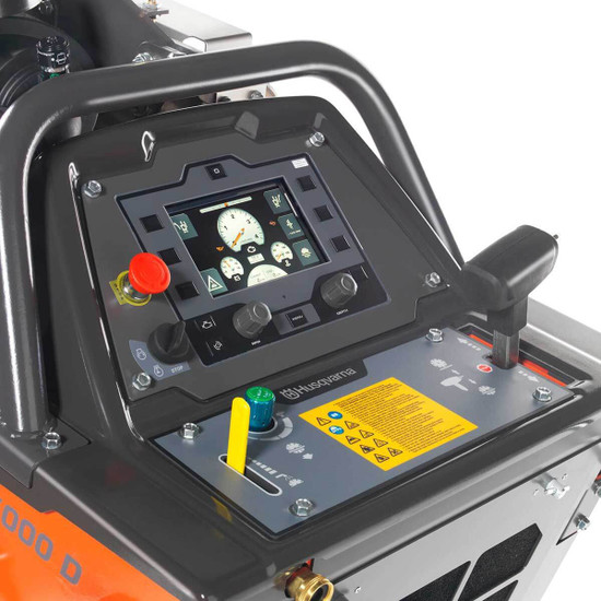 Husqvarna 5000 D Saw Control Panel