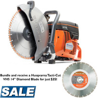 Husqvarna K770 Cut-Off Saw with VH5 Diamond Blade