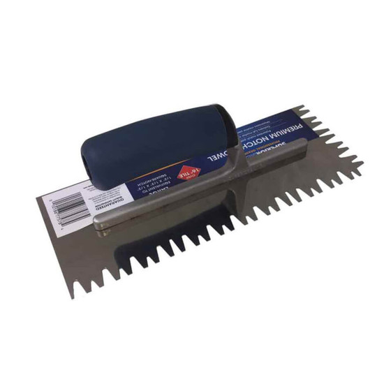 SuperiorBilt Premium Notch Trowels