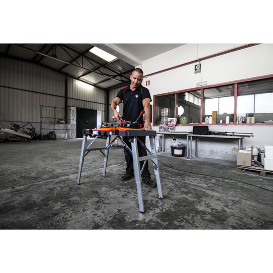 Rubi TS Tile Cutter with Work Table Accessory