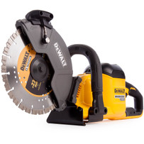 dewalt dcs690b flexVolt 60v max brushless concrete cut-off saw